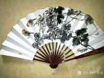甘庆琼日志-国画花鸟扇面作品一组,请欣赏【图4】