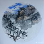 刘石夫日志-山水画小品欣赏 立秋 玫瑰物语 热气镀身,空气沉闷 【图3】
