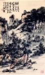 龚光万日志-《水抱孤村远  山通一径斜,不知深树里  还隐几人家。》 【图2】