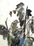 甘庆琼日志-私人订制《清风》,国画写意花鸟画近期客户订制作品四幅,荷花、【图3】