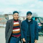 王开元生活-与著名的书法家胡全礼老师在界首合影【图1】