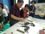 刘建国日志-东北亚国际金融中心书画展笔会,现场绘制作品《马到成功》《与你【图4】