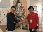 马培童日志-一带一路《东盟文化交流巡回展》,第三站新加坡书画交流展,于2【图5】