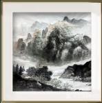 蒋元生日志-新作品展示《山泉》《山外青山楼外楼》《山水清音》。请欣赏【图3】