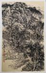 阎敏日志-写生作品《峡谷秋韵》。一个画家能够在自然中随处找到补给自己的【图3】