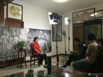 马培童日志-人民日报社采访,拍摄纪录片 。  《袭古创今》传承和创新纪【图2】
