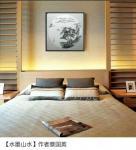 蔡国英日志-《水墨山水》画,尺寸60x60cm 分享:时间长了, 谁【图1】