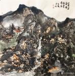 赵永利日志-《溪静云生石》,《春晓》,《登高放眼》,《水曲山如画,溪虚云【图4】