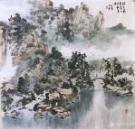 赵永利日志-《溪静云生石》,《春晓》,《登高放眼》,《水曲山如画,溪虚云【图5】