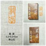陈宏洲日志-新制作完成的印章,张海涛雅正,2.5*2.5*8cm,九龙钮【图3】