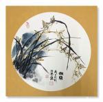 汪琼日志-我的梅兰竹菊小品,《铁骨》,《幽兰》,《清风》,《秋韵》,国【图2】
