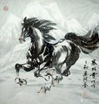 刘建国日志-练马近作:《塞北雪》,《千里之行始于足下》,《思乡》,《志在【图1】