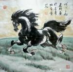 刘建国日志-练马近作:《塞北雪》,《千里之行始于足下》,《思乡》,《志在【图3】