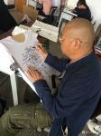 戴建华日志-彝族毕摩文化探究——发现彝族图腾崇拜。手绘文化衫……彝族图腾【图4】
