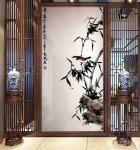 启鹏日志-国画花鸟画竹系列作品《竹寿图》,新作,尺寸四尺68x138c【图3】