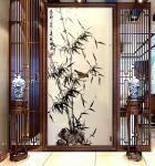启鹏日志-国画花鸟画竹系列作品《竹寿图》,新作,尺寸四尺68x138c【图4】
