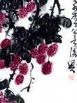 龚光万日志-国画写意花鸟画新作《 日啖荔枝三百颗, 才不枉作岭南人》,附【图3】