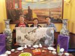 柳士才藏宝-10月2日伟大领袖毛主席的管家吴连登先生一行在市陆公馆生日宴【图1】