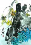 """甘庆琼日志-我们现在讲的中国画,指""""别于绘""""的、""""书画同源""""之画。中国画【图1】"""