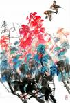 """甘庆琼日志-我们现在讲的中国画,指""""别于绘""""的、""""书画同源""""之画。中国画【图2】"""