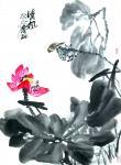 """甘庆琼日志-我们现在讲的中国画,指""""别于绘""""的、""""书画同源""""之画。中国画【图3】"""