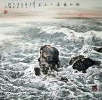 刘文生日志-《师海堂》主人北石山人刘文生笔中的大海,再好好研究研究力争成【图1】