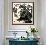 叶向阳日志-翰墨颂中华:《张家界春色》国画山水画,尺寸六尺斗方98x98【图2】
