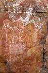 杨牧青日志-澳大利亚的卡卡杜国家公园中有多处古老的原住民岩画,记录了先民【图2】