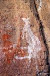 杨牧青日志-澳大利亚的卡卡杜国家公园中有多处古老的原住民岩画,记录了先民【图3】