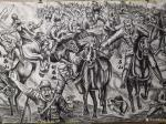 崔宁日志-很多人要看我们的《抗日英雄》百米画卷,但是还没画完,正在日夜【图2】