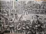 崔宁日志-很多人要看我们的《抗日英雄》百米画卷,但是还没画完,正在日夜【图4】