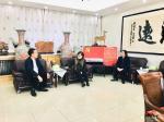 叶仲桥生活-国画《玉堂富贵》被张万年夫人收藏。 今天(10月26日)上【图2】