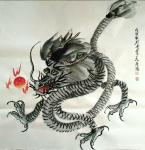 石梦松日志-石梦松原创国画十二生肖图《子鼠》,《丑牛》,《寅虎》,《卯兔【图5】