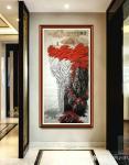 叶向阳日志-翰墨颂中华:国画山水画《金秋》,叶向阳国画作品。此画曾于19【图2】