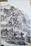阎敏日志-太行山写生进行时:秋高气爽的太行山,朦胧的太行山,太行的山村【图1】