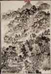 阎敏日志-太行山写生进行时:秋高气爽的太行山,朦胧的太行山,太行的山村【图5】