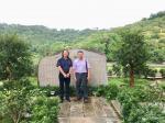 叶仲桥生活-在禅宗的故乡国恩寺后山六祖大师植荔枝的地方,二个月内分别与中【图2】