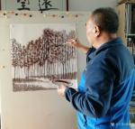 秦发艺生活-《著名艺术评论家木歌》点评老琴表意画的境界:    著名艺【图1】
