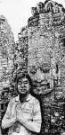 马培童日志-《佛教对我艺术创作的影响》马培童焦墨画感悟笔记(64)走进柬【图1】