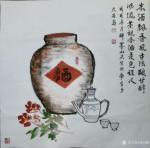 邓烈根日志-南台乡大石脑笔会国画山水作品三幅。   12月20日应邀到【图3】