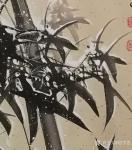 何学忠日志-2018年最后一幅国画花鸟《飞雪迎春》竹,完成。   网购【图3】