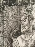 马培童日志-《去心追手摩、麦积山立传》马培童焦墨画感悟笔记之(68) 【图3】