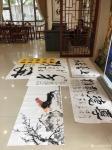 叶仲桥生活-广东汉莎画院组织二0一九年第一次书画交流活动,来自天津、佛山【图2】