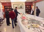 叶仲桥生活-广东汉莎画院组织二0一九年第一次书画交流活动,来自天津、佛山【图3】