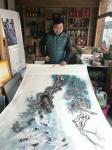 刘欢生活-未来中国的书画艺术气氛会越来越活跃。乱世藏黄金,盛世藏字画。【图1】