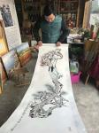 刘欢生活-未来中国的书画艺术气氛会越来越活跃。乱世藏黄金,盛世藏字画。【图2】