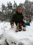 王华中生活-雪中放纵-下场雪实在不易,雪中癫一次,酒杯里添加点雪美味十足【图5】