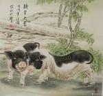 胡记领日志-我的工笔斗方作品欣赏68*68厘米【图5】