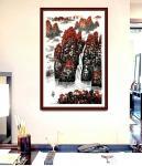 叶向阳日志-翰墨颂中华:《鸿运当头》国画山水画,乙亥年新作分享。今日春分【图2】
