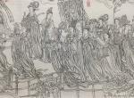 马培童日志-国画人物画《八十七神仙画卷》我之我法,自有我在-马培童焦墨画【图1】